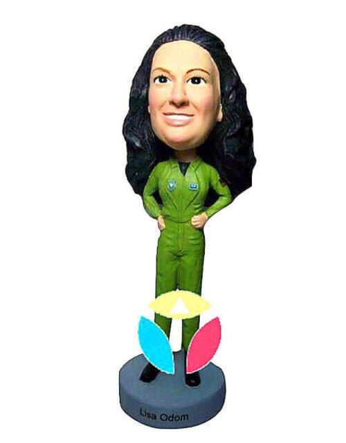 Air Force Pilot Woman Custom Bobblehead Doll