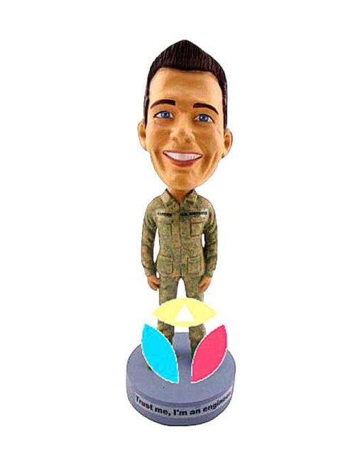 Army Uniform Bobblehead
