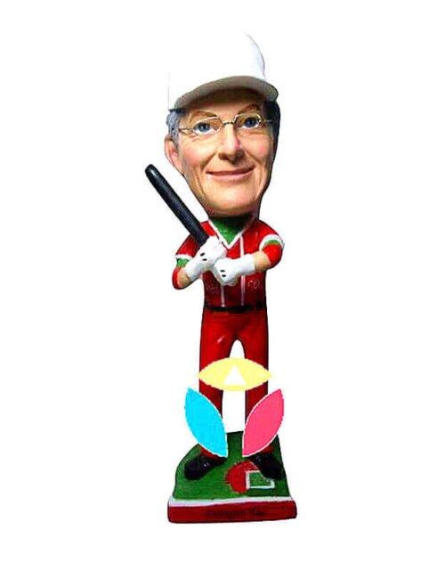 Baseball Batter Custom bobblehead Doll
