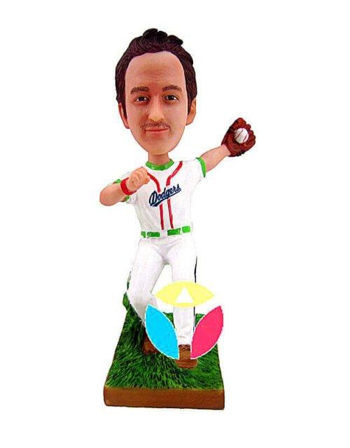 Baseball Pitcher bobblehead Doll