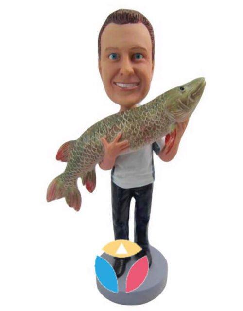 Catch Big Fish Custom Bobbleheads