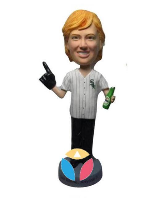 Custom #1 Fan Male bobblehead Doll