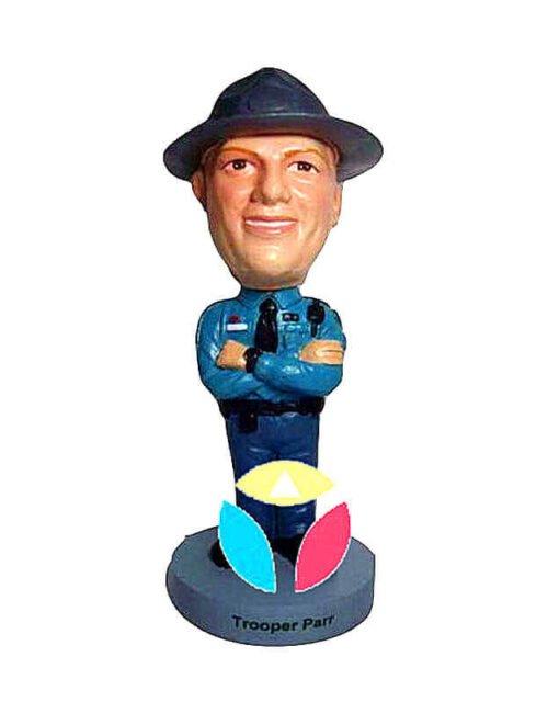 Custom Arms Crossed Policeman Bobblehead