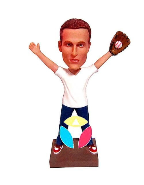 Custom Baseball Catcher Bobblehead