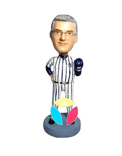 Custom Baseball Catcher Bobbleheads
