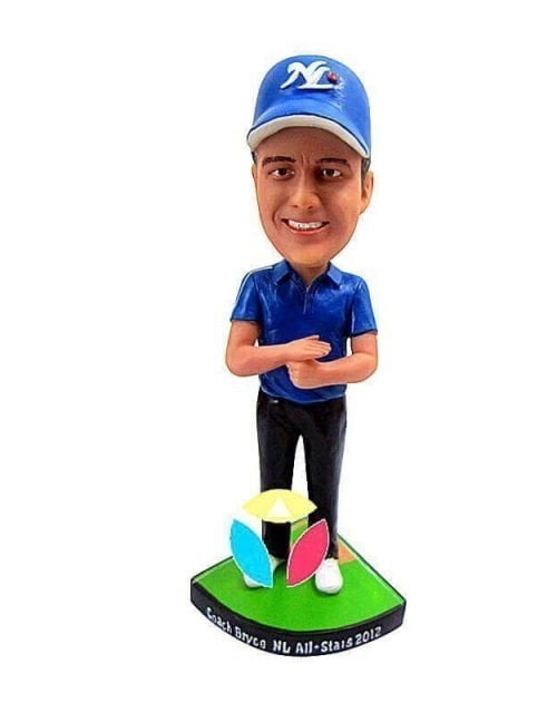 Custom Baseball referee Bobblehead