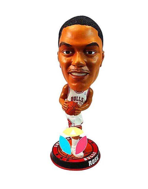 Custom Basketball Player Palming The Ball Bobbleheads