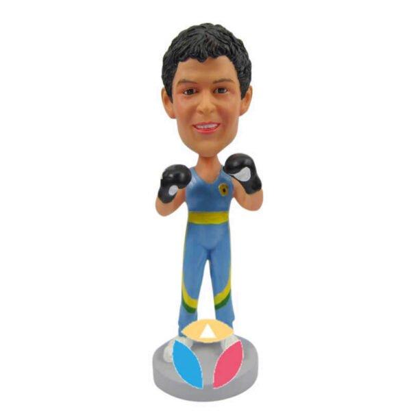 Custom Boxer Bobblehead