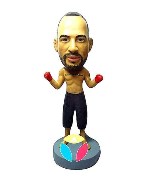 Custom Boxer Bobblehead Doll