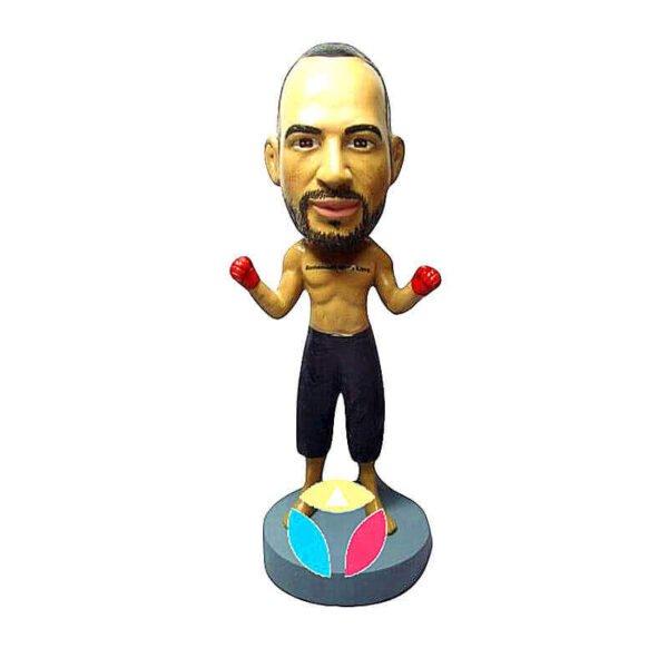 Custom Boxer Bobblehead Doll