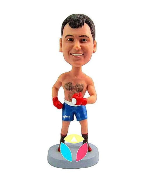 Custom Boxer Bobbleheads