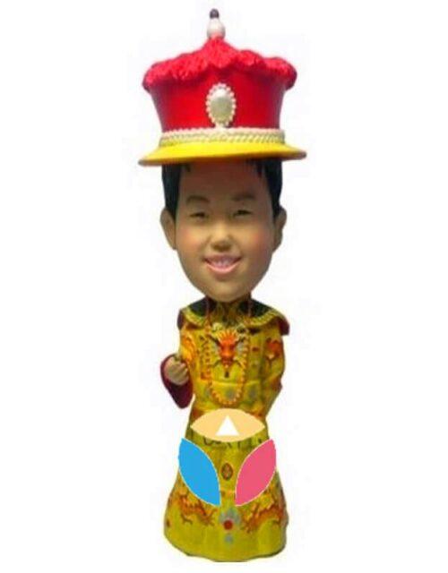 Custom Chinese Emperor Bobbleheads
