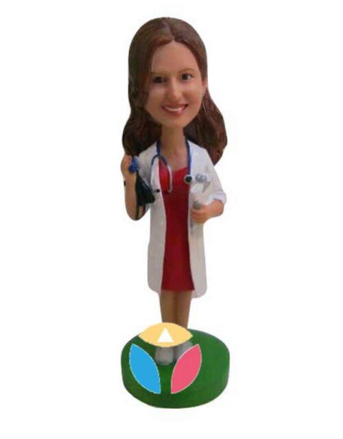 Custom Female Doctor Bobbleheads