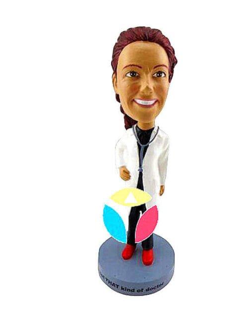 Female Doctor In Long Coat