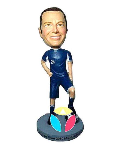Custom Football Player Bobblehead Doll