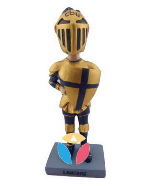 Custom Golden Knight Bobblheads Doll