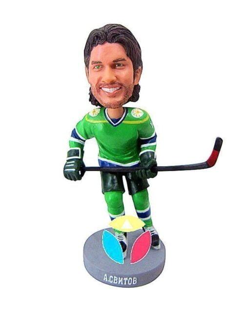Custom Hockey Face Off Bobblehead