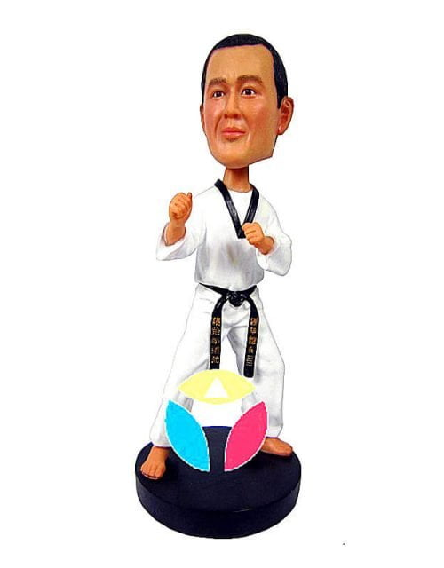 Custom Karate Bobbleheads