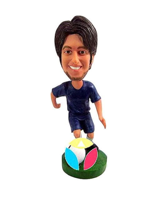 Custom Male Dribbing Bobbleheads
