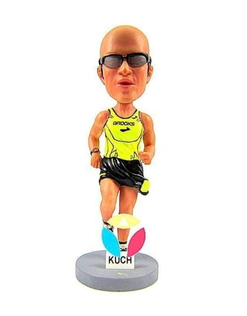 Custom Marathon Bobblehead Doll