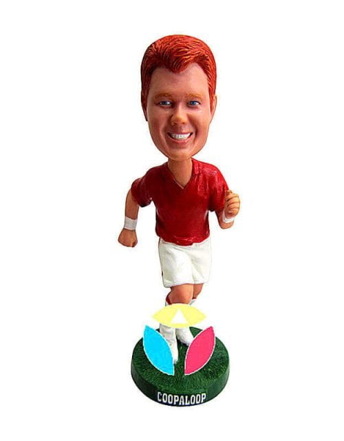 Custom Running For Ball Bobble Head