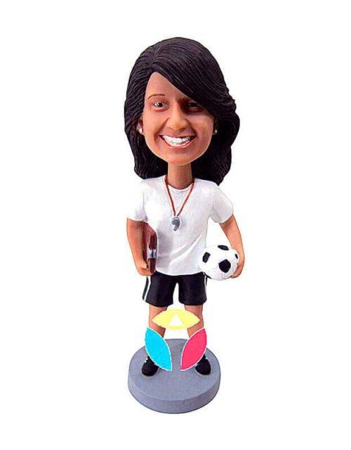 Custom Soccer Referee Bobbleheads
