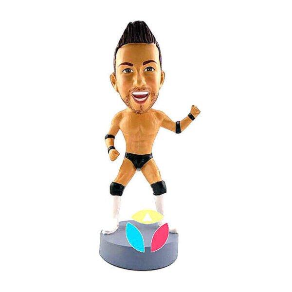 Custom WWE Champion Bobbleheads