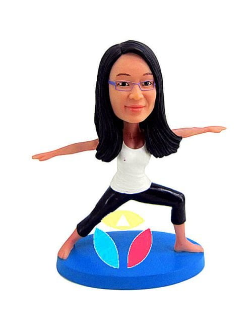 Custom Yoga Bobblehead