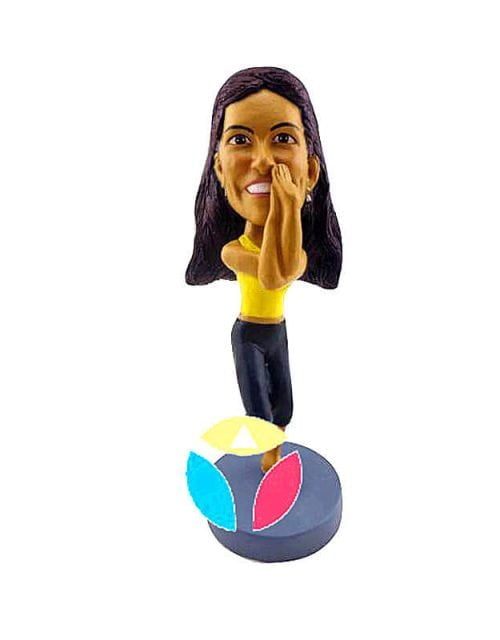 Custom Yoga Bobblehead Doll