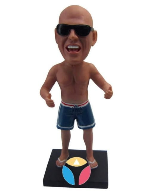 Customized Muscle Man Bobbleheads