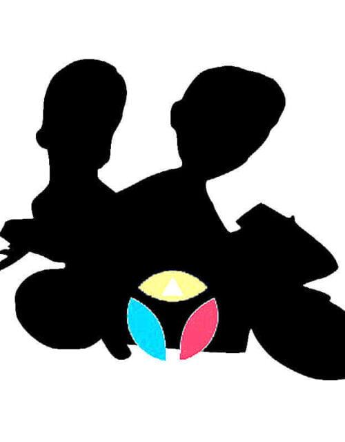 Customized Wedding Couple Bobble Head Doll On A Motorbike