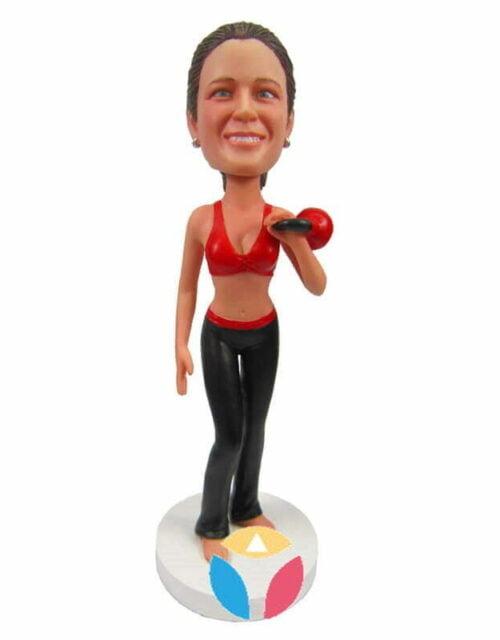 Female Fitness Custom Bobbleheads