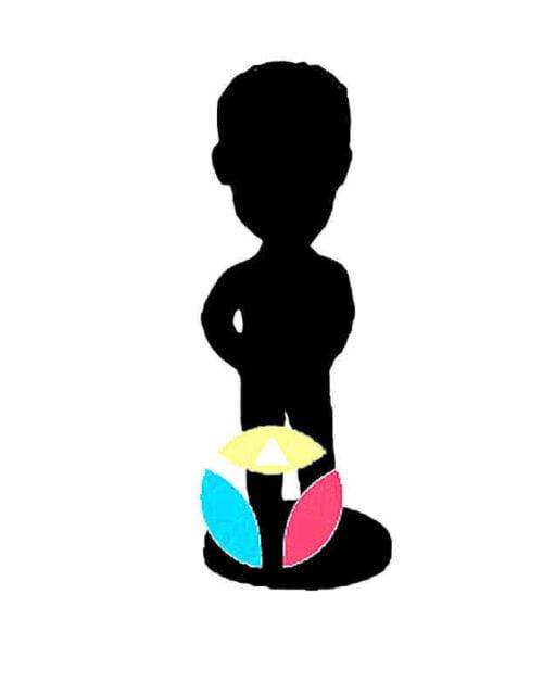 Custom Single Bobblehead - One Person Fully Customized