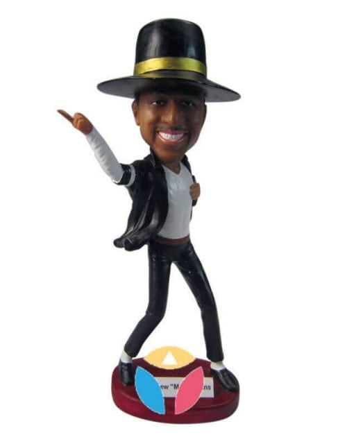 MJ pose custom bobblehead