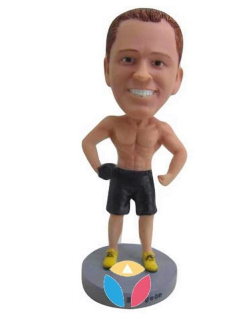 Make Your Own Muscleman Bobbleheads