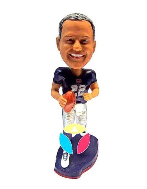 Male Football Custom Bobblehead Doll