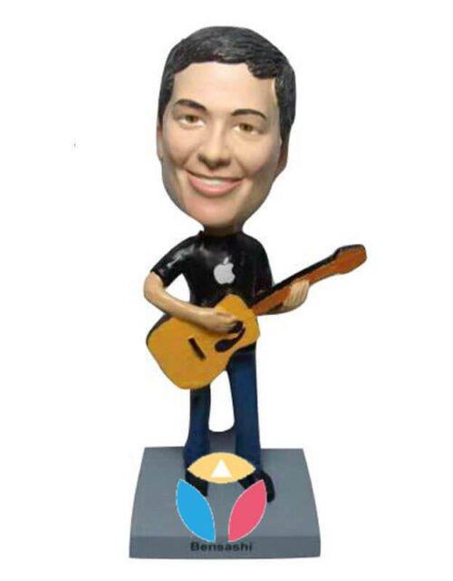 Man With Guitar Custom bobblehead
