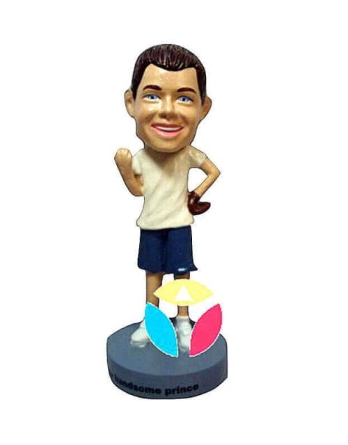 Personalized Baseball Bobblehead Doll