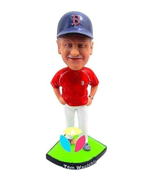 Personalized Baseball Coach Bobblehead