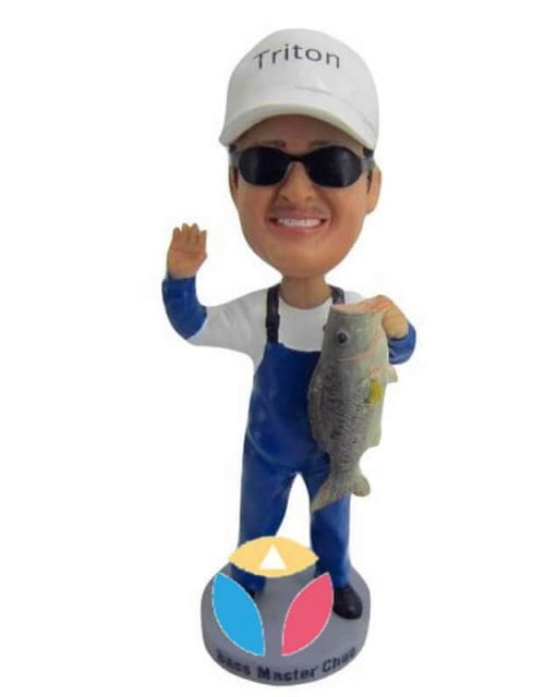 Personalized Fisher Bobbleheads