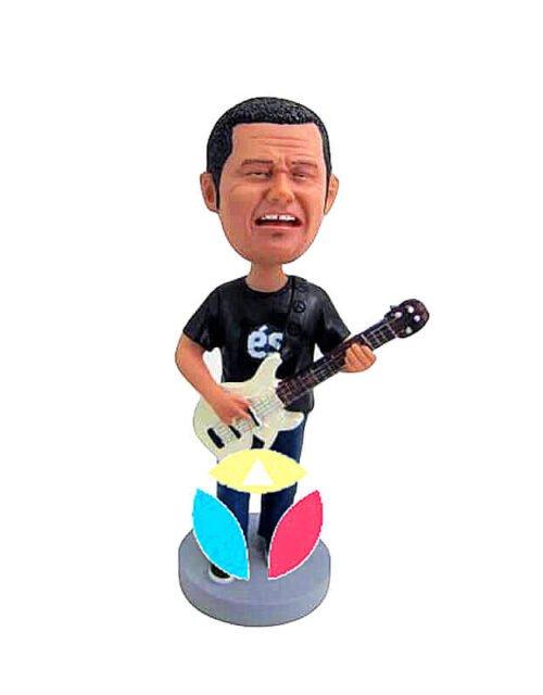 Playing Guitar And Singing Custom Bobblehead
