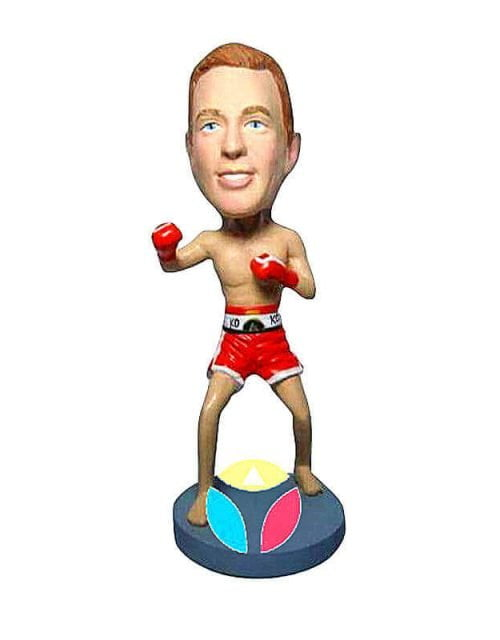 Ready To Fight Custom Boxer Bobblehead