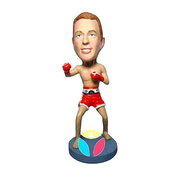 Ready To Fight Custom Boxer Bobblehead