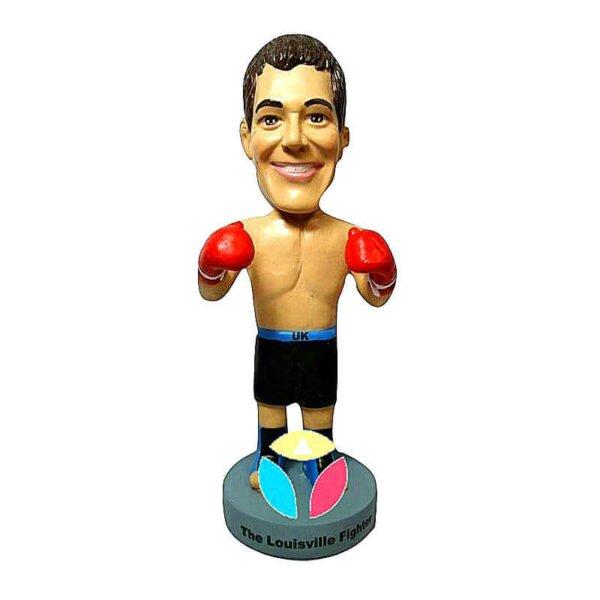 Shirtless Boxer Man In Gloves