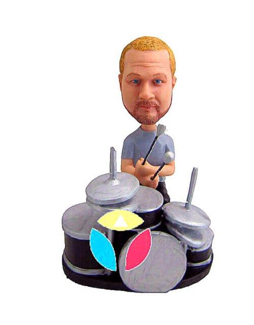 Stick Drummer Custom Bobbleheads