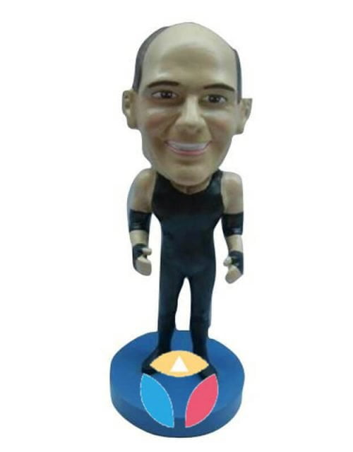 Wrestler Custom Bobblehead