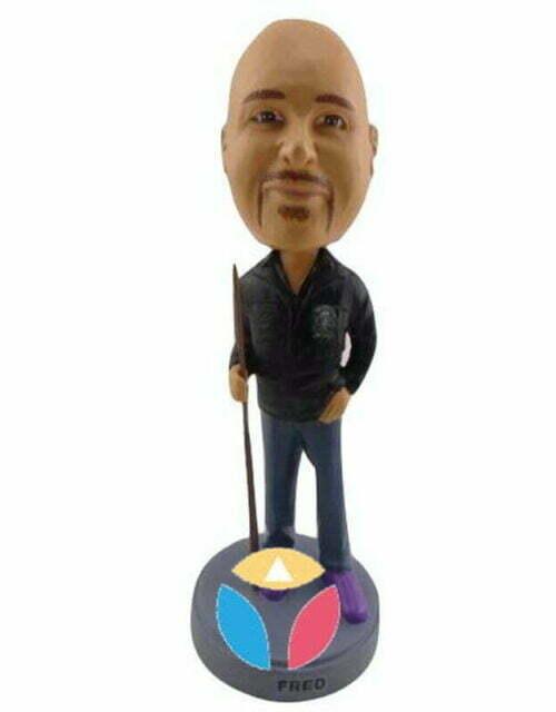 Customized Billiard Ball Bobble Head