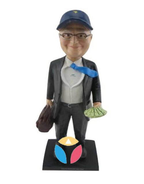 Customized Businessman Bobble Head