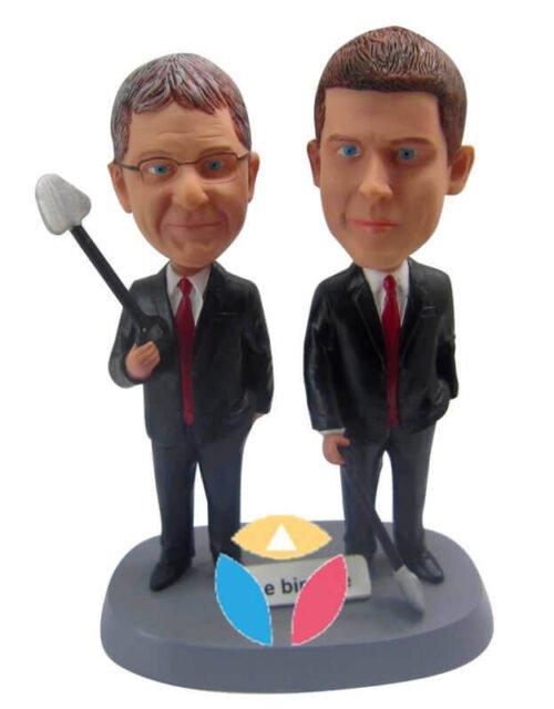 Customized Company Friends Bobbleheads