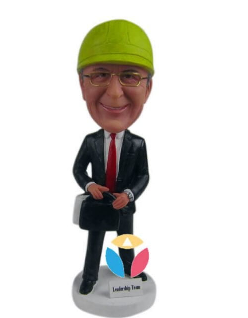 Customized Construction Leader Bobbleheads